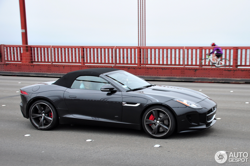 jaguar f type s convertible 27 july 2014 autogespot. Black Bedroom Furniture Sets. Home Design Ideas