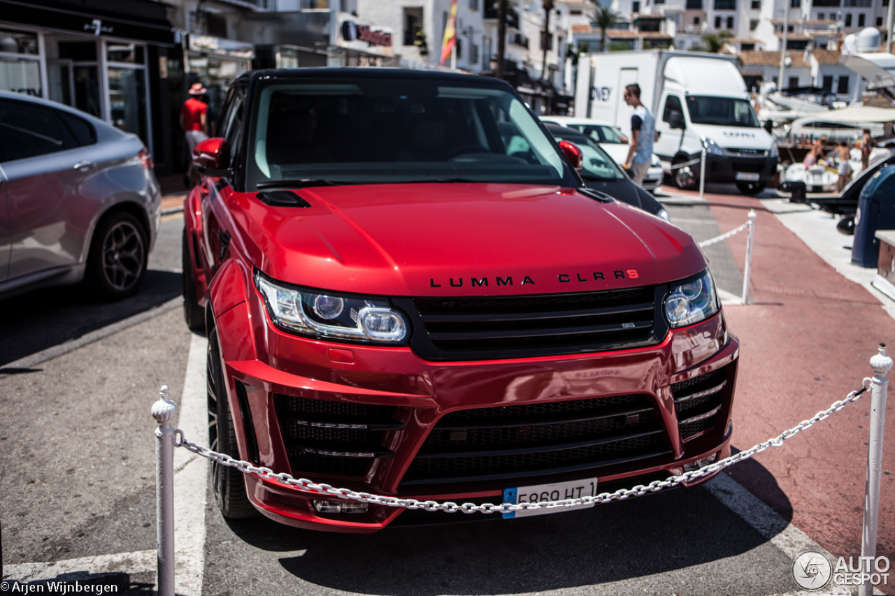 Land Rover Range Rover Sport Lumma Clr Rs 27 July 2014