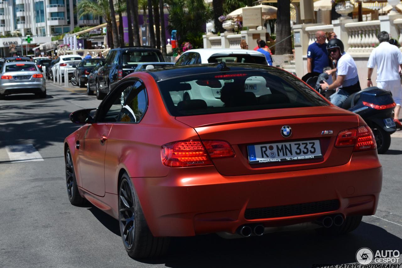 BMW M3 E92 Coupė Frozen Limited Edition - 28 July 2014 ...