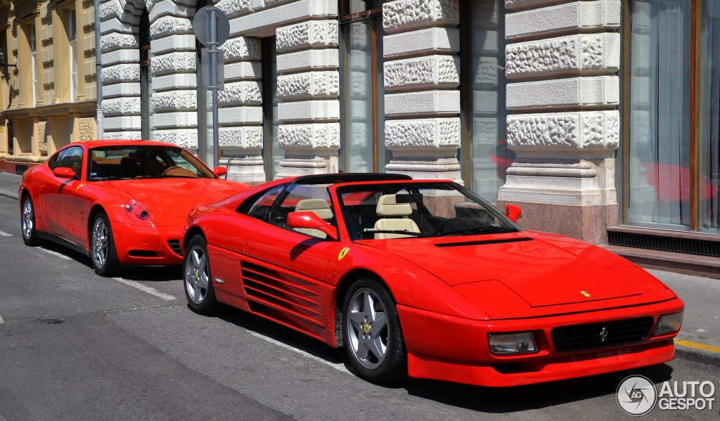 ferrari 348 gts 28 july 2014 autogespot. Black Bedroom Furniture Sets. Home Design Ideas