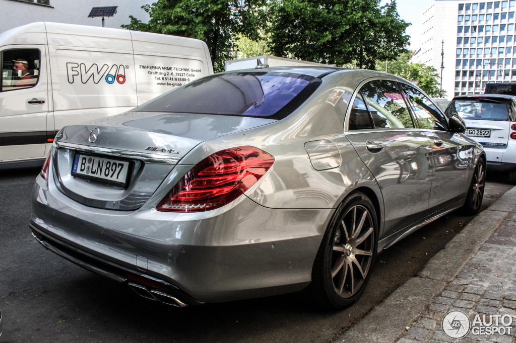 Mercedes Benz S 63 Amg V222 28 Juli 2014 Autogespot