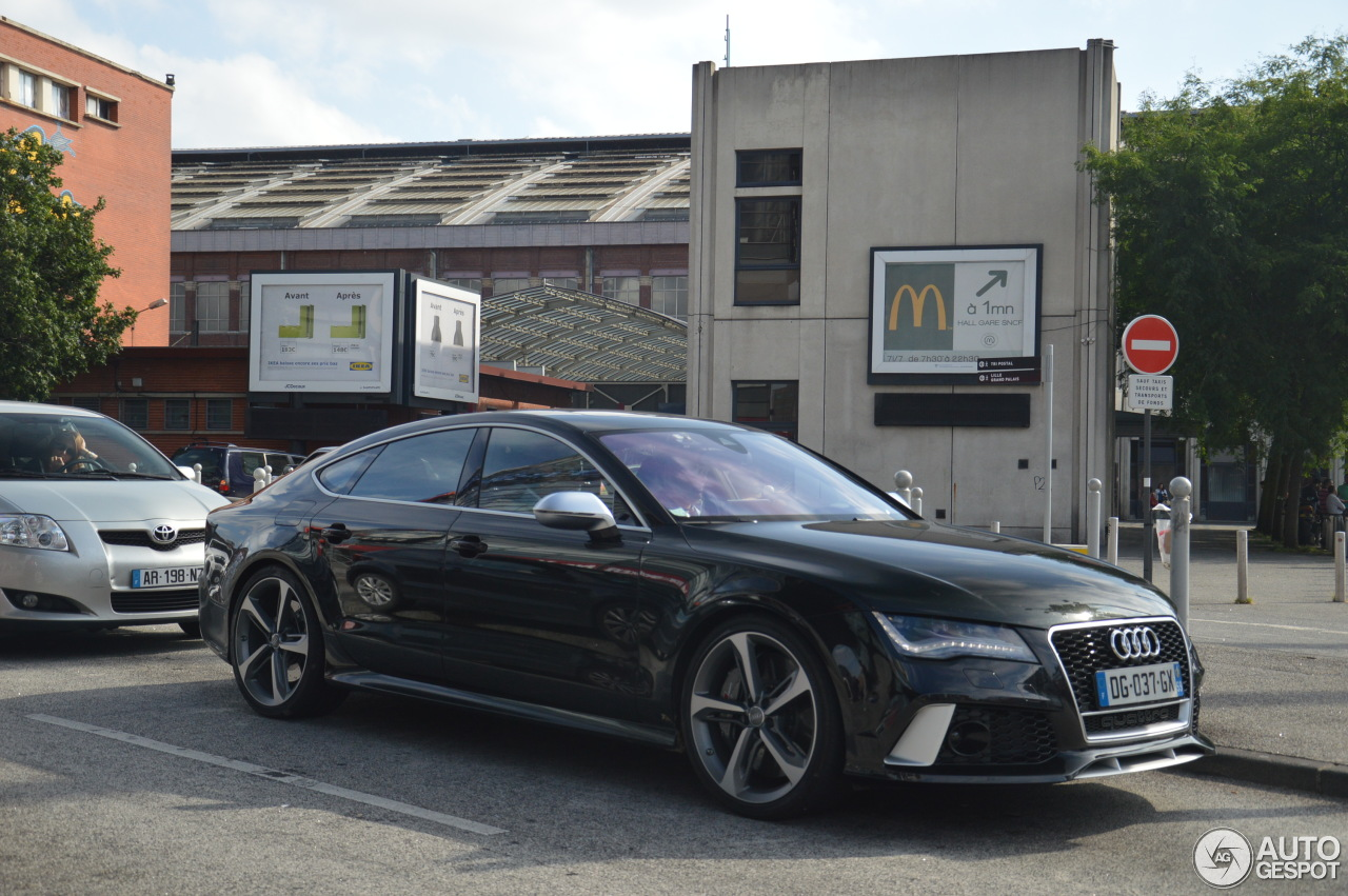 audi rs7 sportback 30 juillet 2014 autogespot. Black Bedroom Furniture Sets. Home Design Ideas