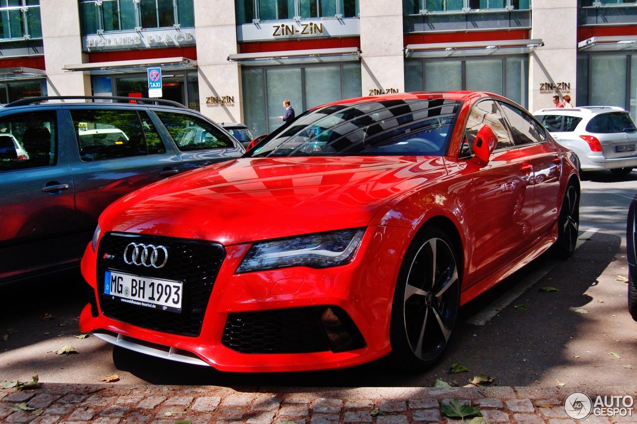 Audi Rs7 Sportback 31 Juli 2014 Autogespot