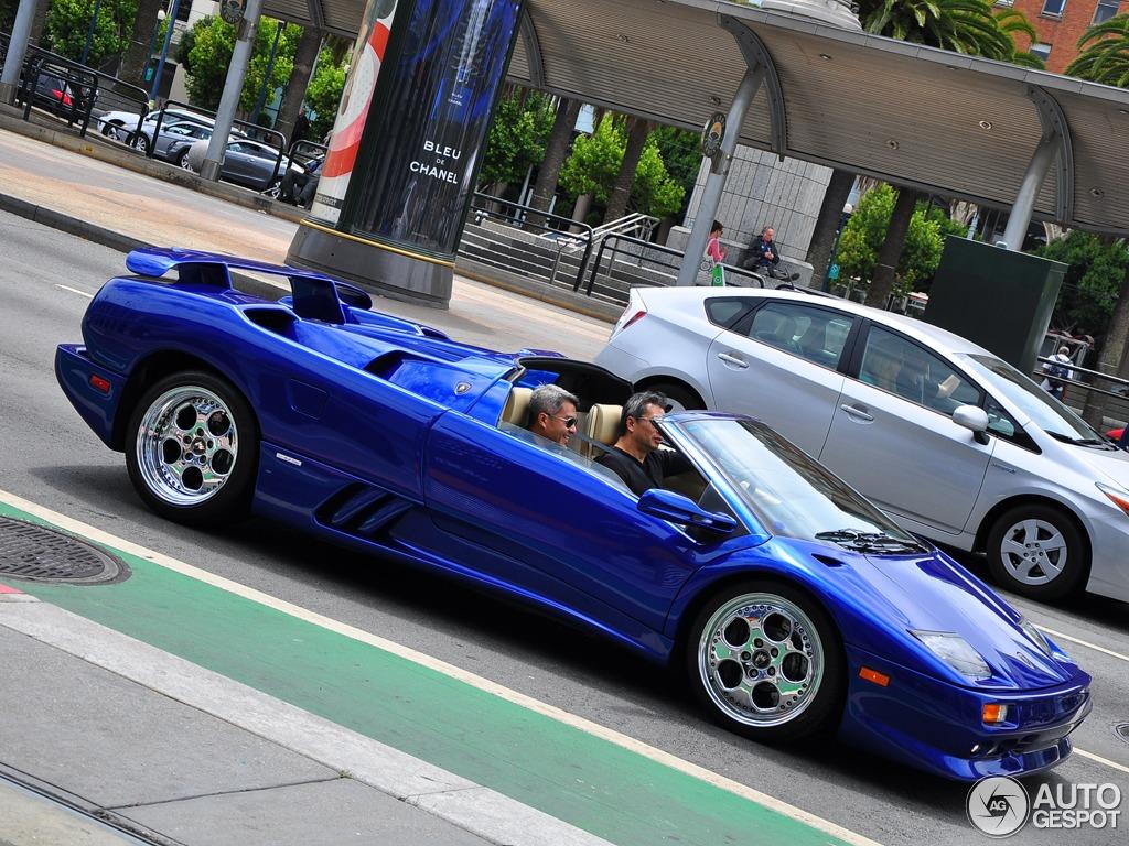 Lamborghini Diablo Vt Roadster 2 August 2014 Autogespot