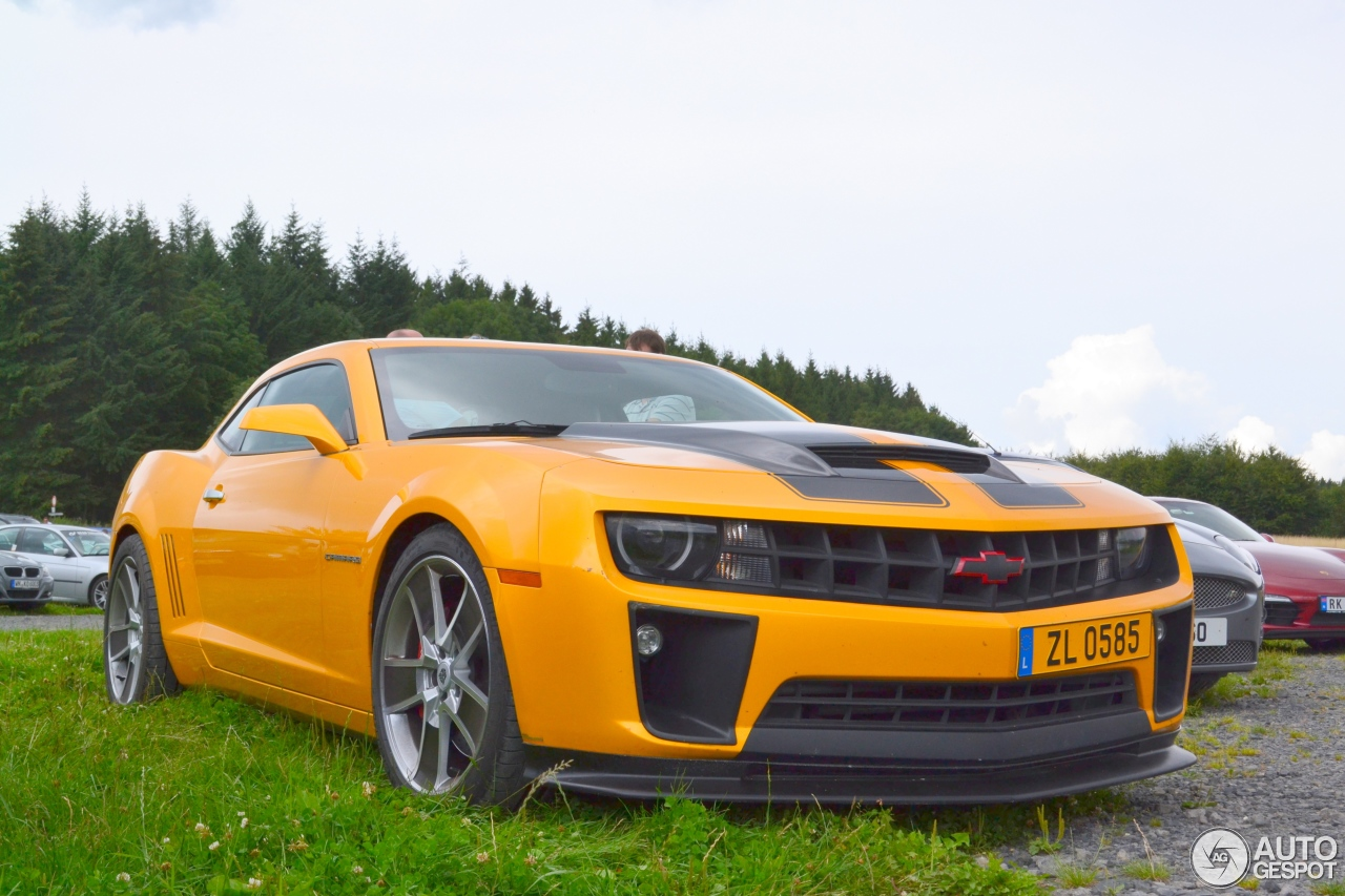 chevrolet camaro ss bumblebee 4 august 2014 autogespot. Black Bedroom Furniture Sets. Home Design Ideas