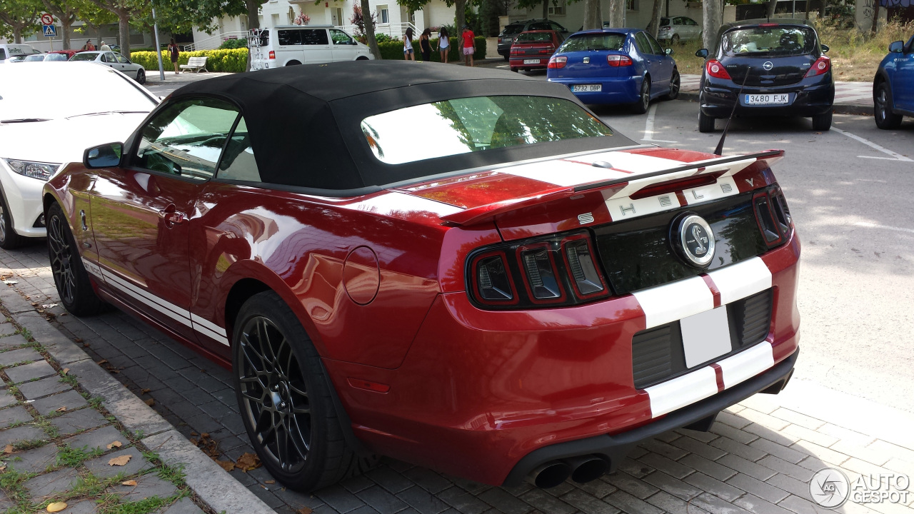 ford mustang shelby gt500 convertible 2014 4 august 2014 autogespot. Black Bedroom Furniture Sets. Home Design Ideas