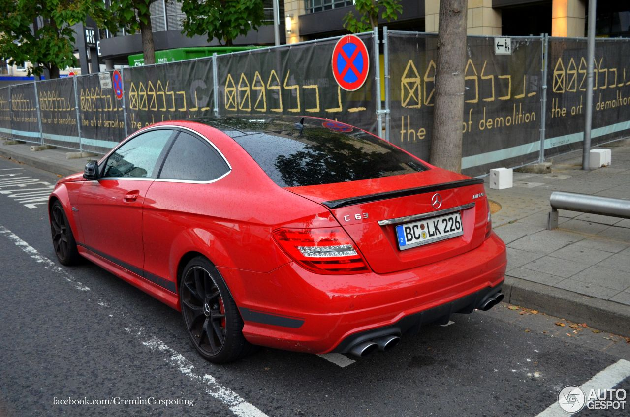 Mercedes Benz C 63 Amg Coup 233 Edition 507 5 August 2014