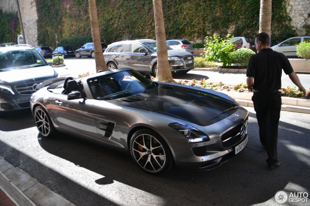 Sls Amg Roadster Black Sls Amg gt Roadster Final