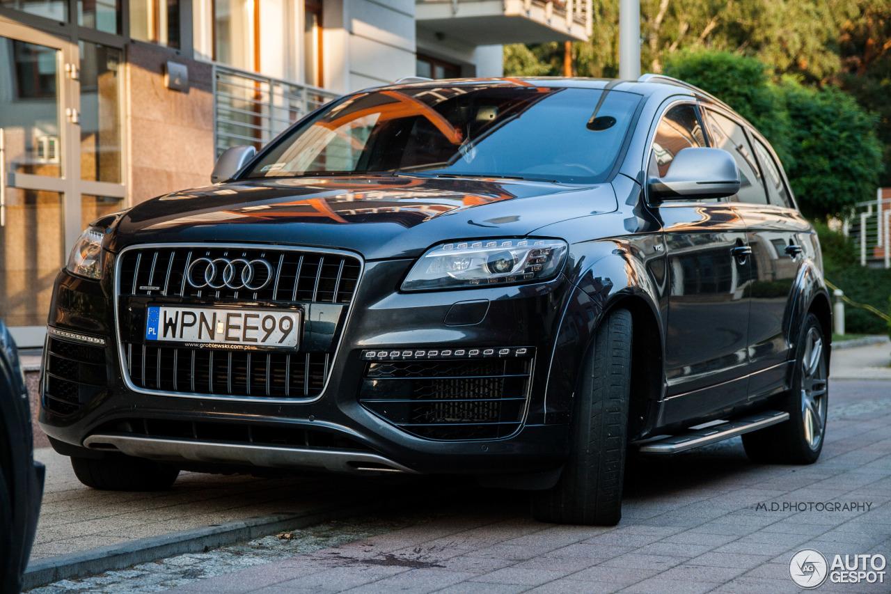 Audi Q7 V12 TDI - 6 August 2014 - Auspot