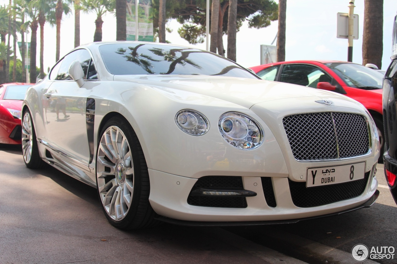 Bentley Mansory Continental Gt 2012 7 August 2014