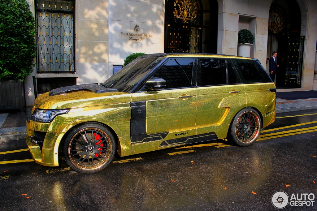 Land Rover Hamann Range Rover Myst 232 Re 7 August 2014