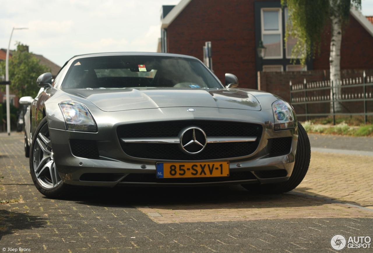 Mercedes Benz Sls Amg Roadster 7 August 2014 Autogespot