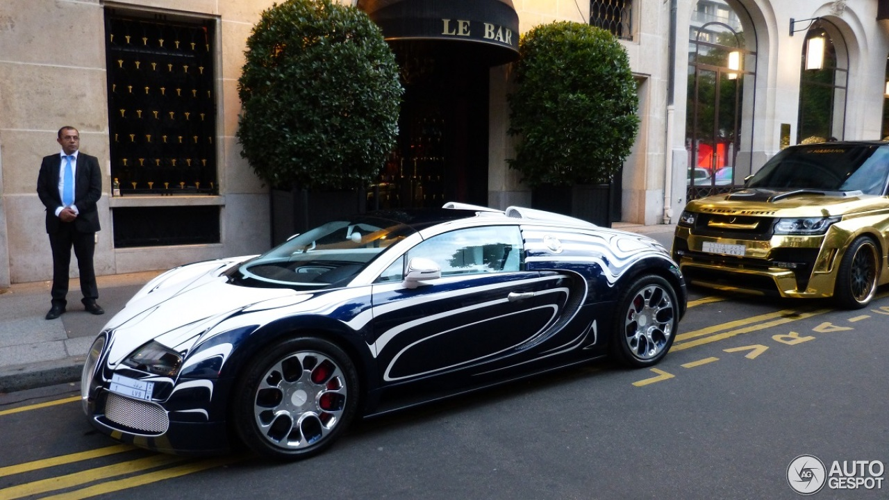 bugatti veyron 16 4 grand sport l 39 or blanc 8 august 2014 autogespot. Black Bedroom Furniture Sets. Home Design Ideas