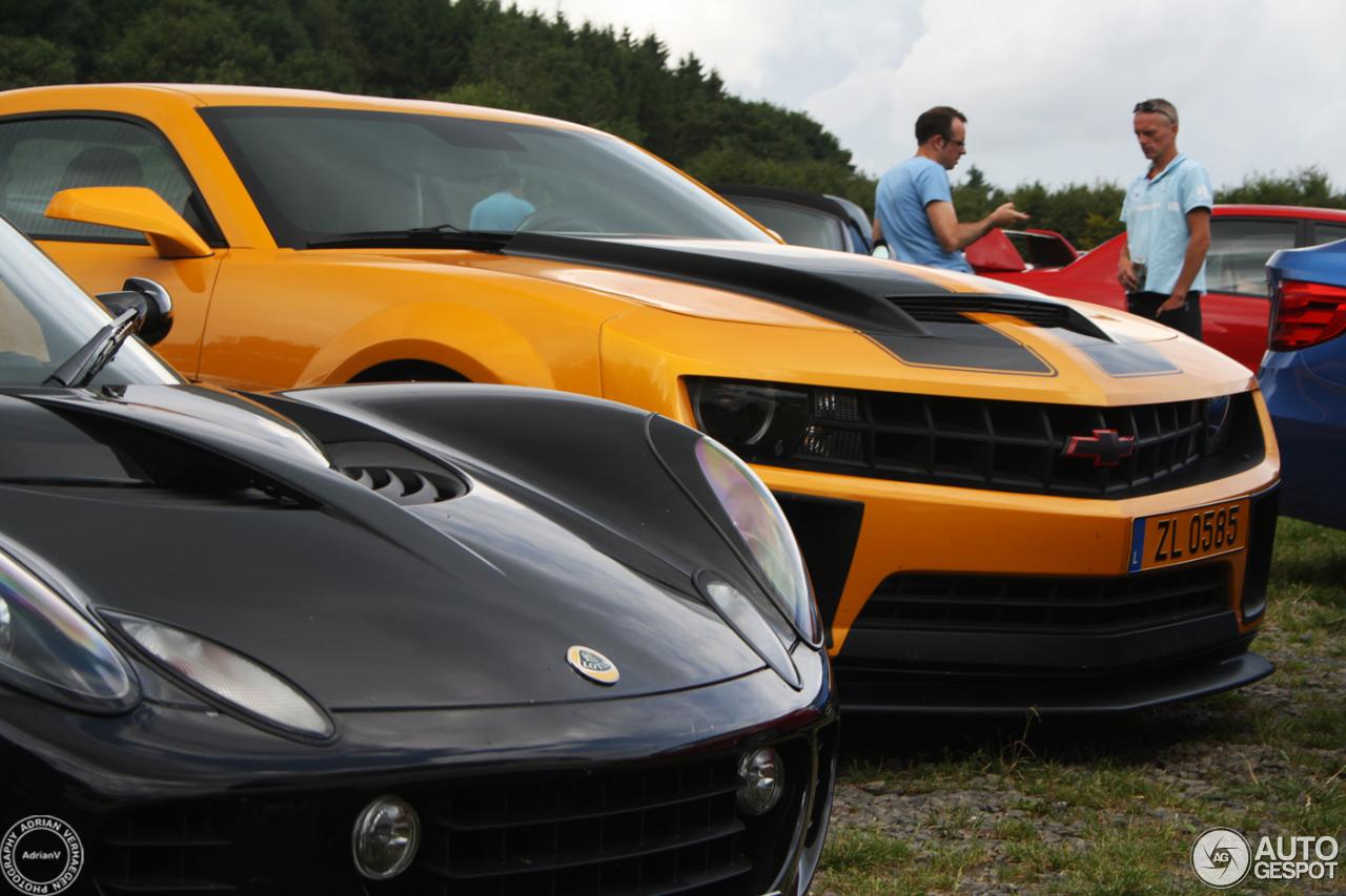 Chevrolet Camaro Ss Bumblebee 8 August 2014 Autogespot