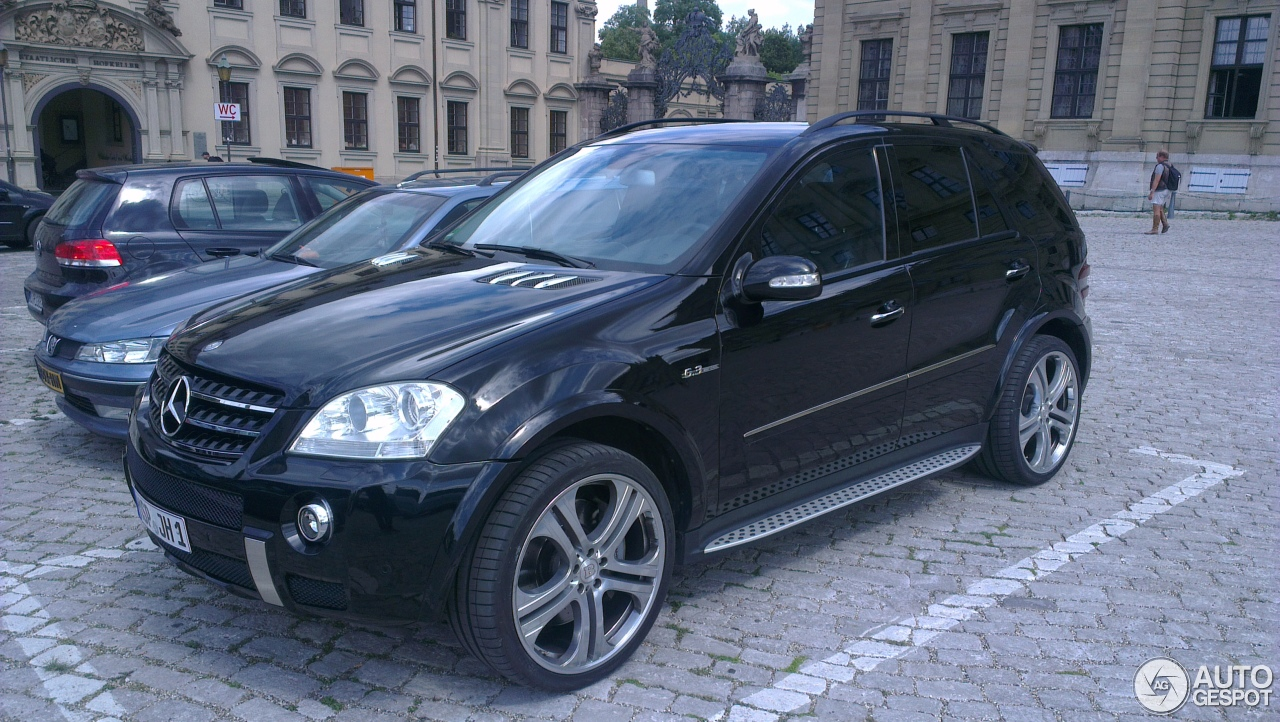 mercedes benz ml 63 amg w164 8 august 2014 autogespot. Black Bedroom Furniture Sets. Home Design Ideas