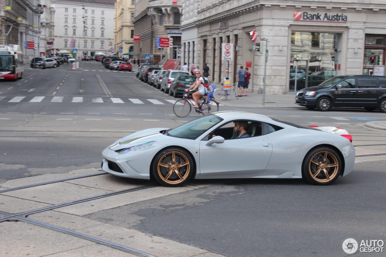 Ferrari 458 Speciale 9 August 2014 Autogespot