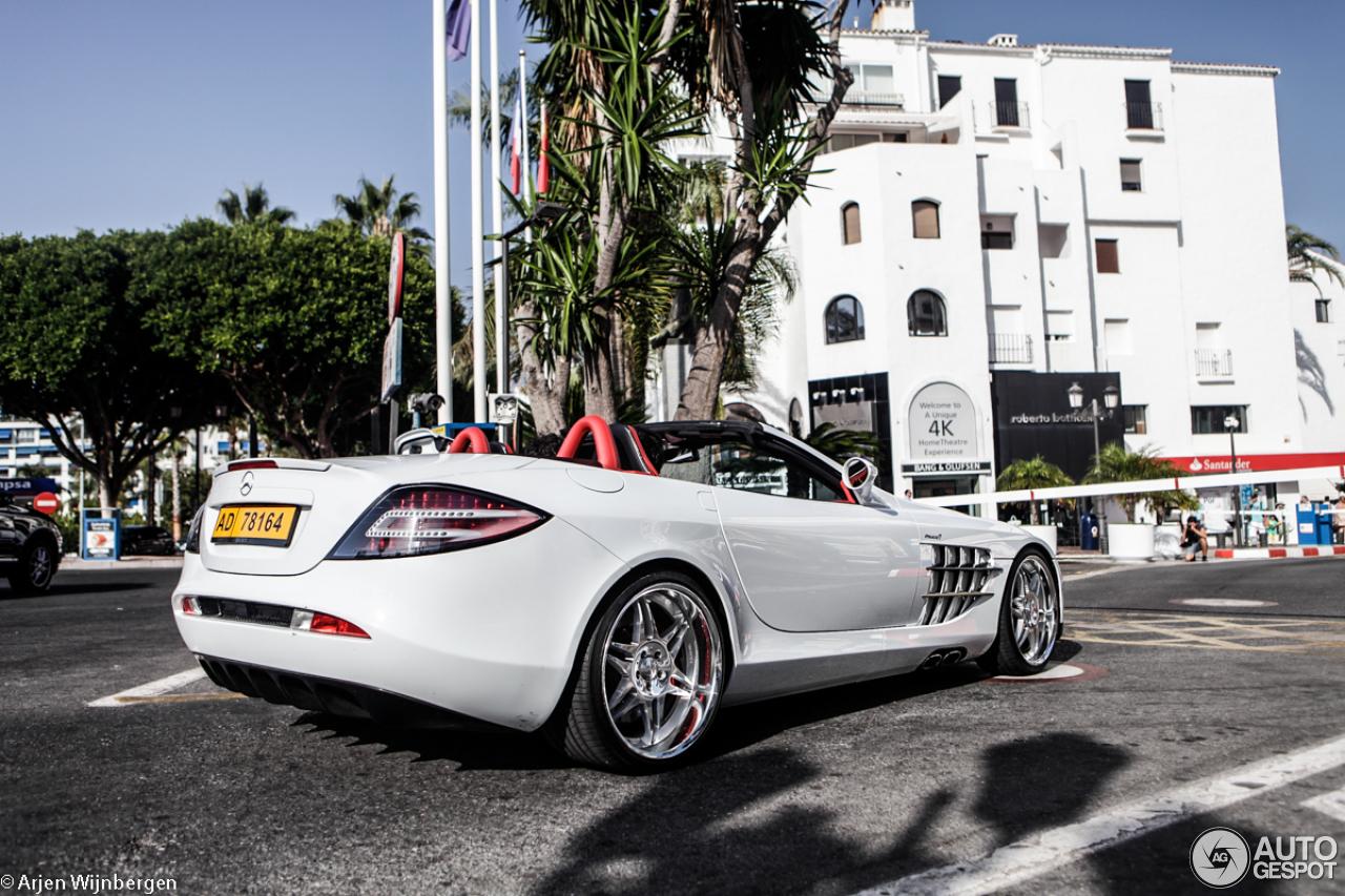 mercedes-benz brabus slr mclaren roadster - 10 august 2014 - autogespot