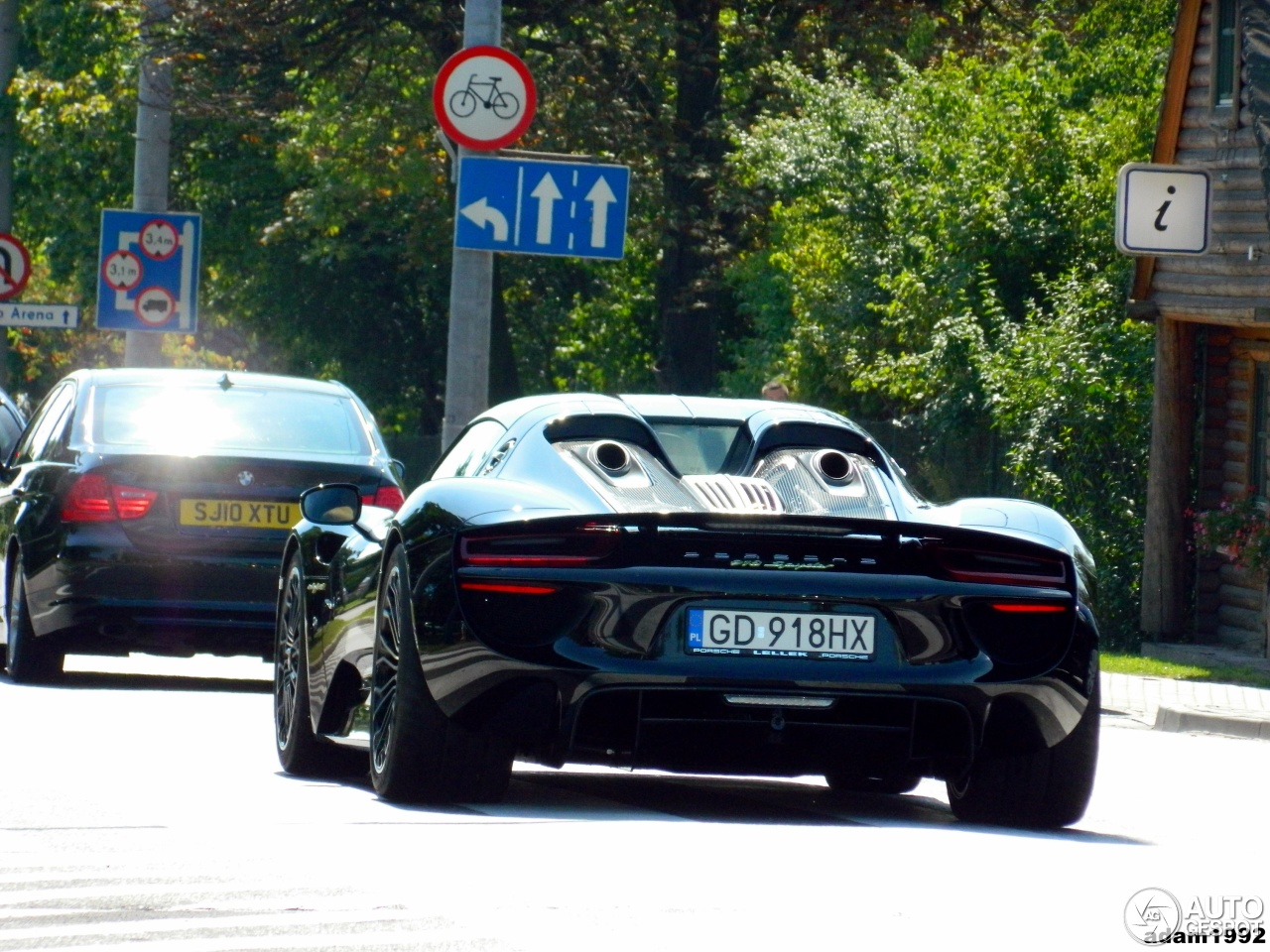 porsche 918 spyder 10 august 2014 autogespot. Black Bedroom Furniture Sets. Home Design Ideas