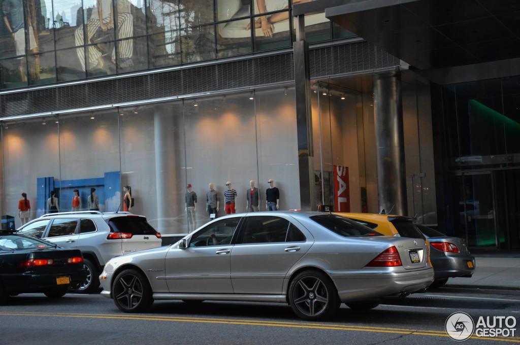 Mercedes Benz S 55 Amg W220 Kompressor 11 August 2014