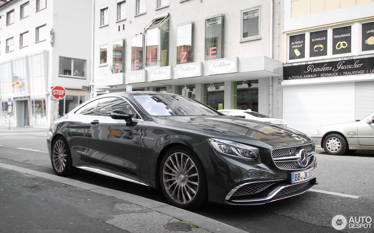 mercedes benz s 65 amg coup c217 11 agosto 2014 autogespot. Black Bedroom Furniture Sets. Home Design Ideas