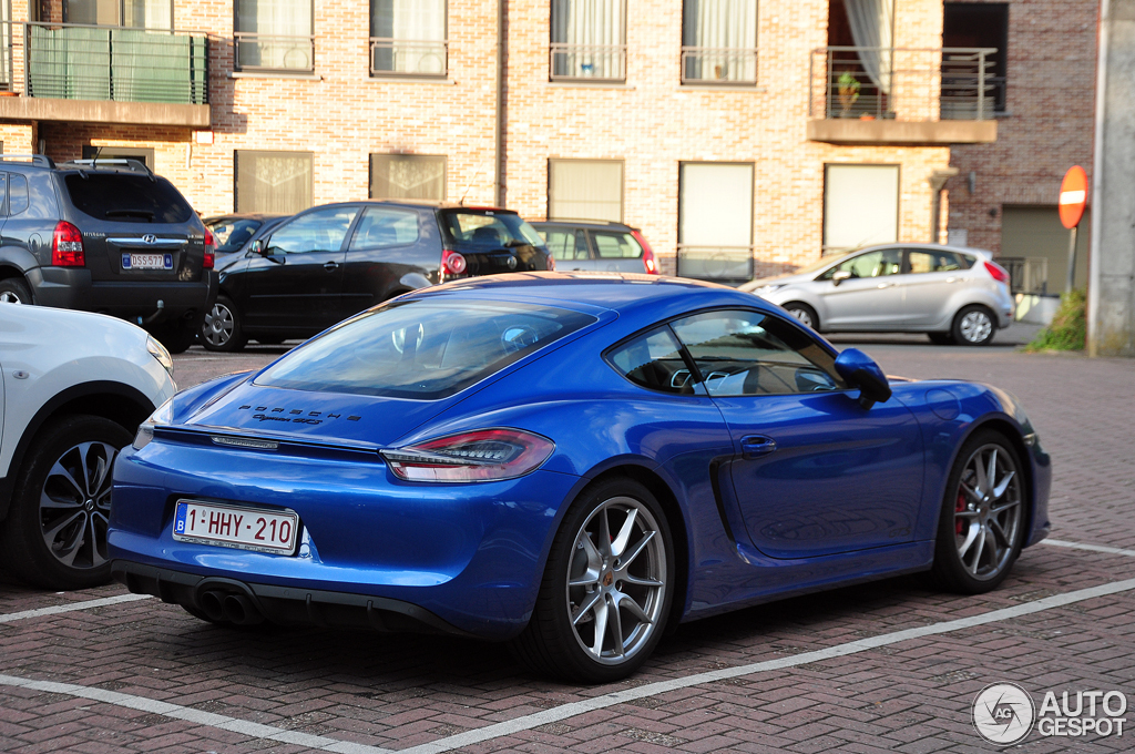 porsche 981 cayman gts 11 august 2014 autogespot. Black Bedroom Furniture Sets. Home Design Ideas