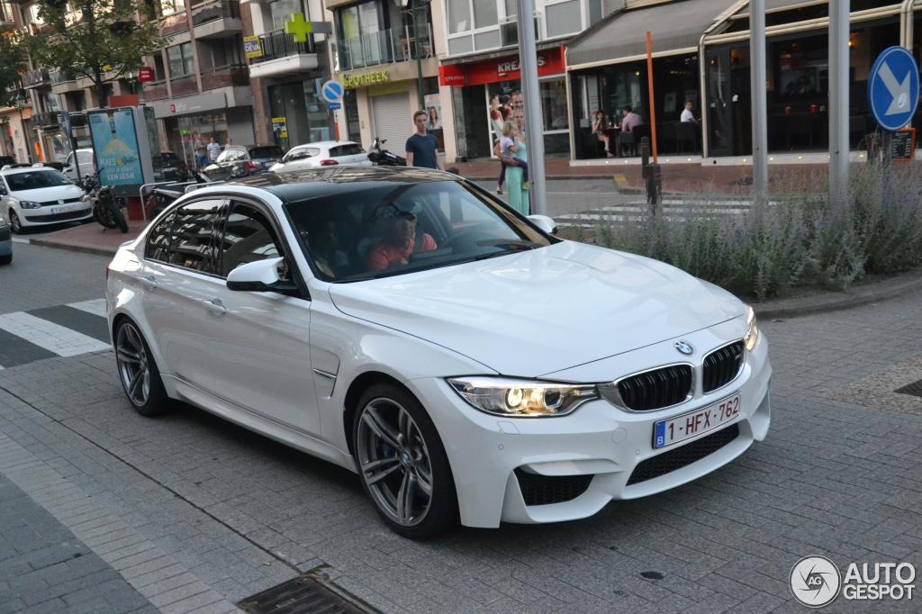 bmw m3 f80 sedan 2014 12 august 2014 autogespot. Black Bedroom Furniture Sets. Home Design Ideas