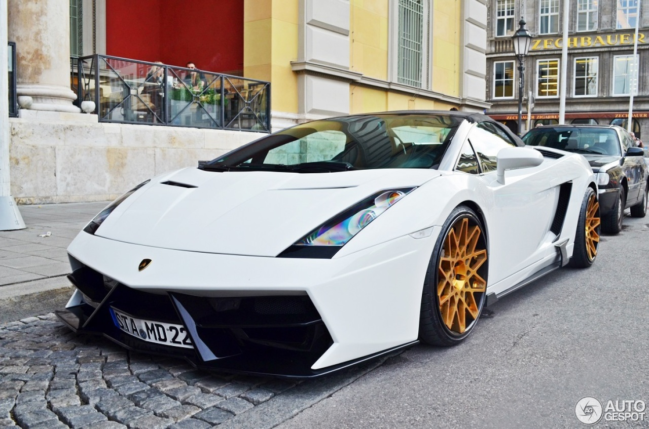 lamborghini gallardo spyder prior design 12 august 2014. Black Bedroom Furniture Sets. Home Design Ideas