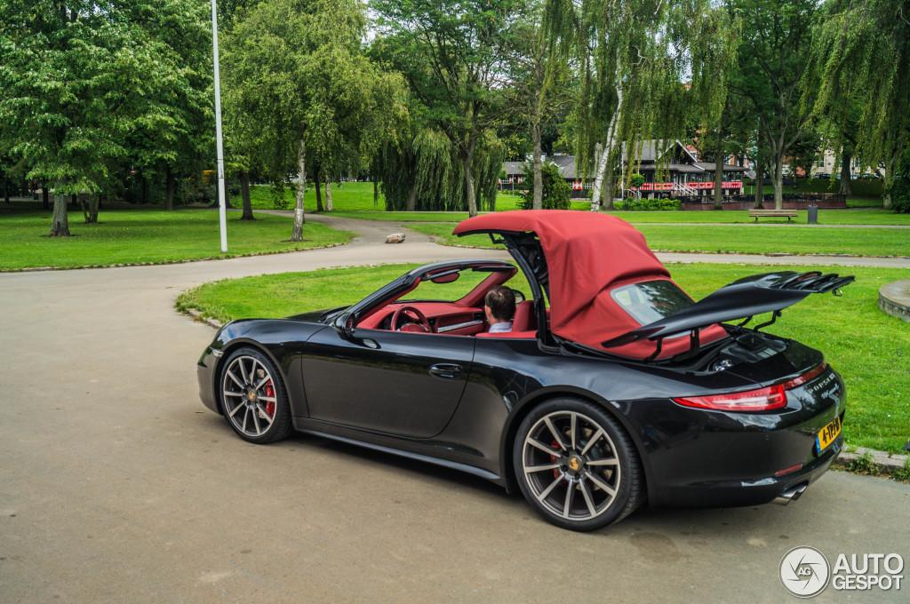 porsche 991 carrera 4s cabriolet 12 augustus 2014 autogespot. Black Bedroom Furniture Sets. Home Design Ideas