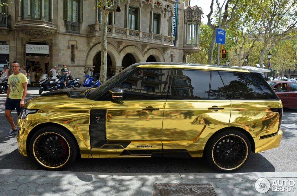 Range Rover Matte >> Land Rover Hamann Range Rover Mystère - 13 August 2014 - Autogespot