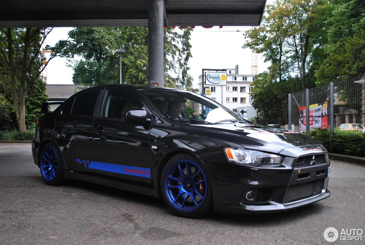 Mitsubishi Lancer Evolution X Mr 13 August 2014 Autogespot