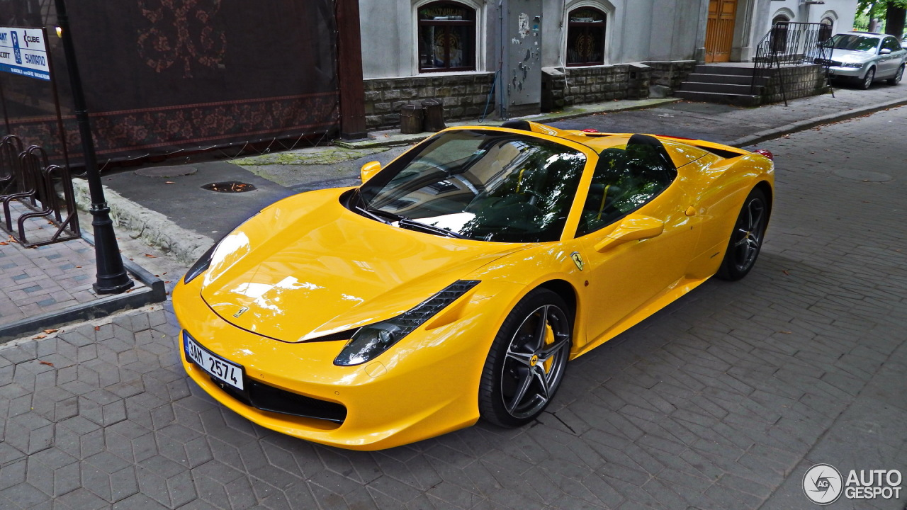 Ferrari 458 Spider - 15 August 2014 - Auspot