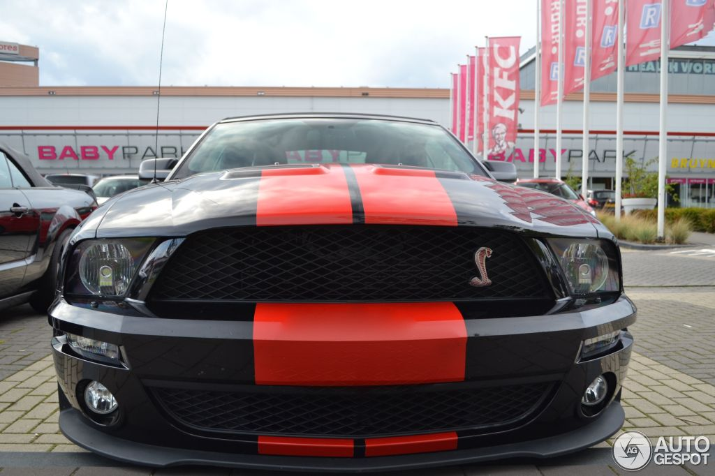 Ford Mustang Shelby GT500 Convertible Red Stripe Limited ...