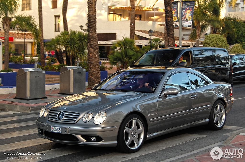 mercedes benz cl 55 amg c215 kompressor 18 august 2014 autogespot. Black Bedroom Furniture Sets. Home Design Ideas