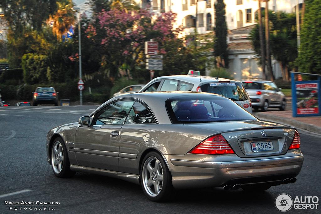 Mercedes benz cl 55 amg c215 kompressor 18 august 2014 for Mercedes benz cl 55 amg