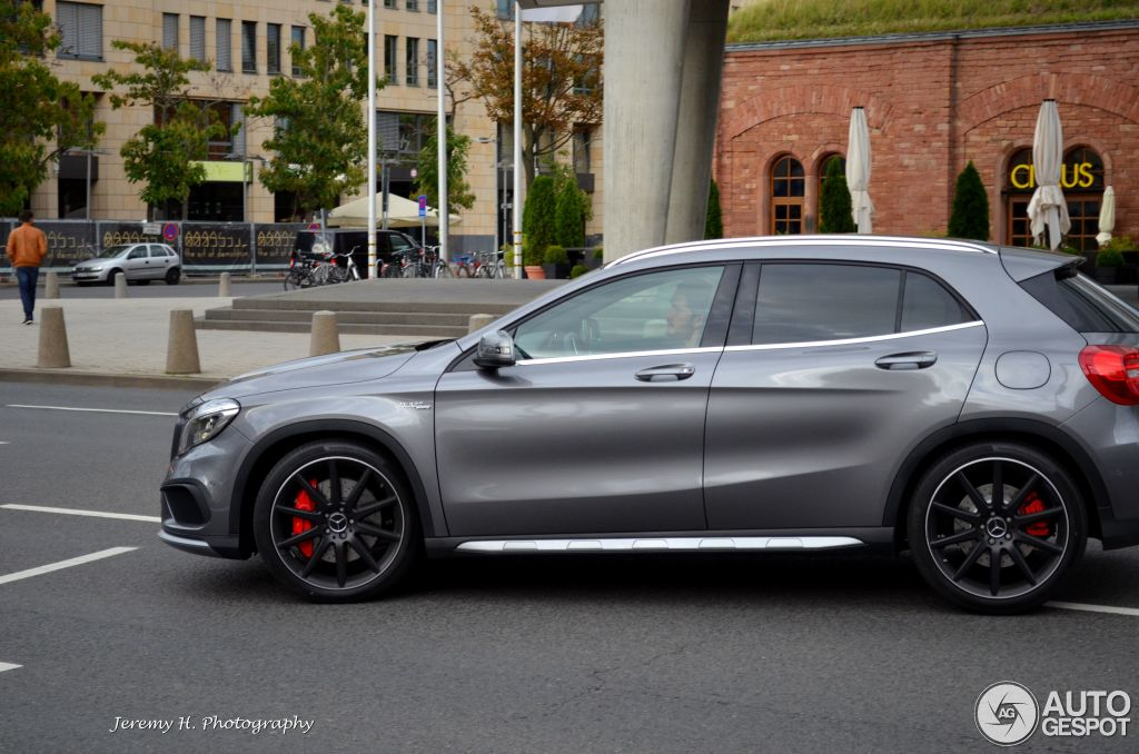 Mercedes benz gla 45 amg x156 24 august 2014 autogespot for Mercedes benz gla 45 amg