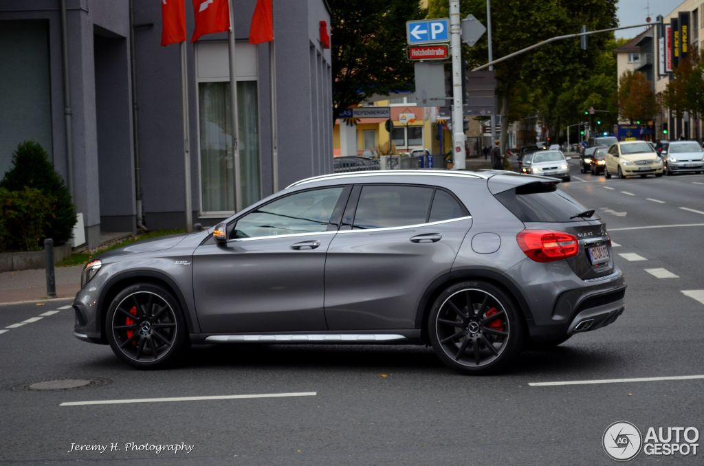 mercedes benz gla 45 amg x156 24 august 2014 autogespot. Black Bedroom Furniture Sets. Home Design Ideas
