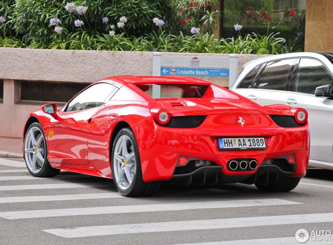 Ferrari 458 Spider 25 August 2014 Autogespot