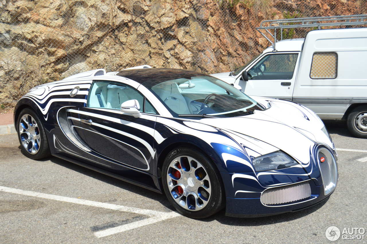 bugatti veyron 16 4 grand sport l 39 or blanc 26 august 2014 autogespot. Black Bedroom Furniture Sets. Home Design Ideas