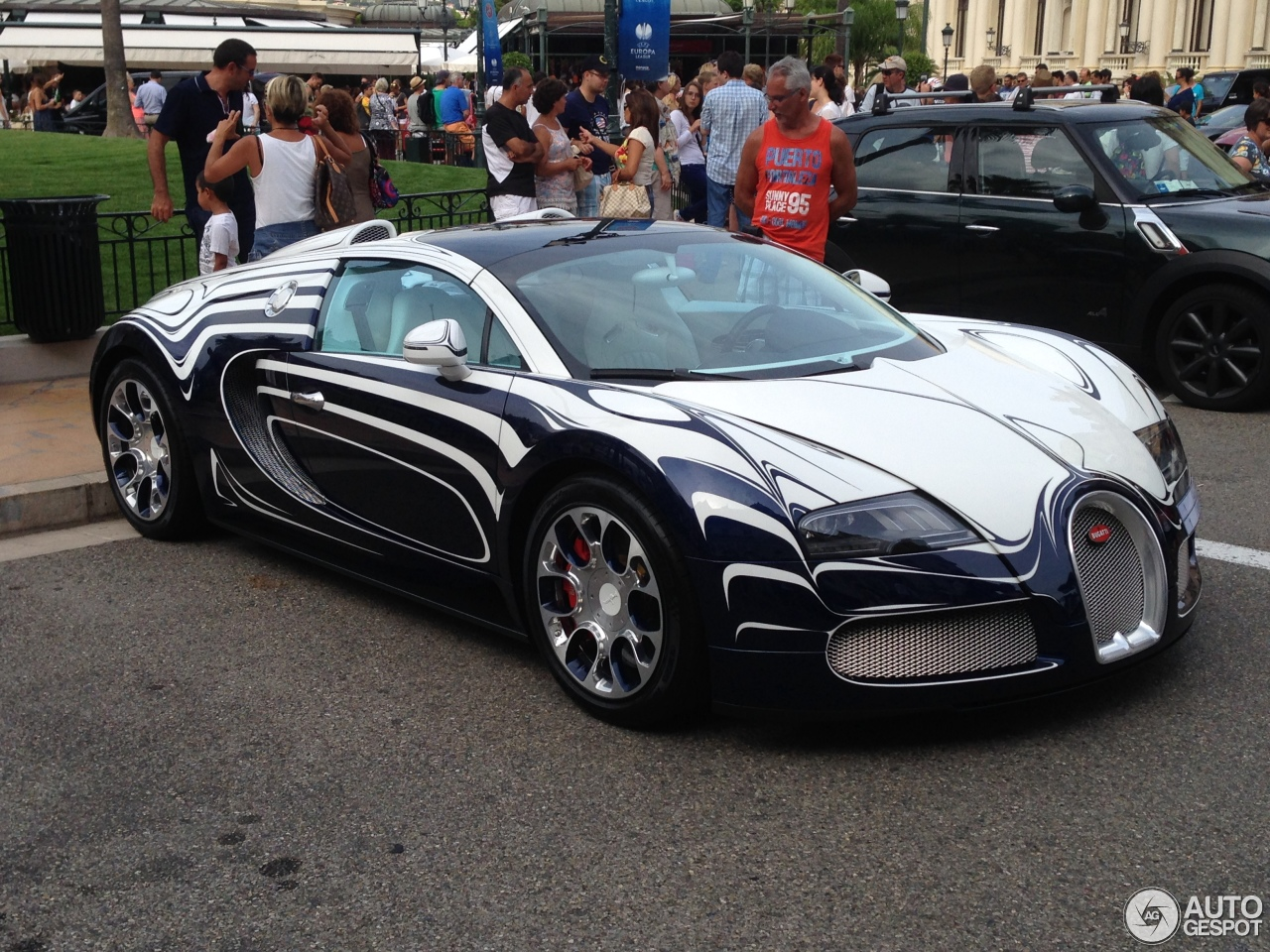 знакомьтесь bugatti veyron grand sport or blanc