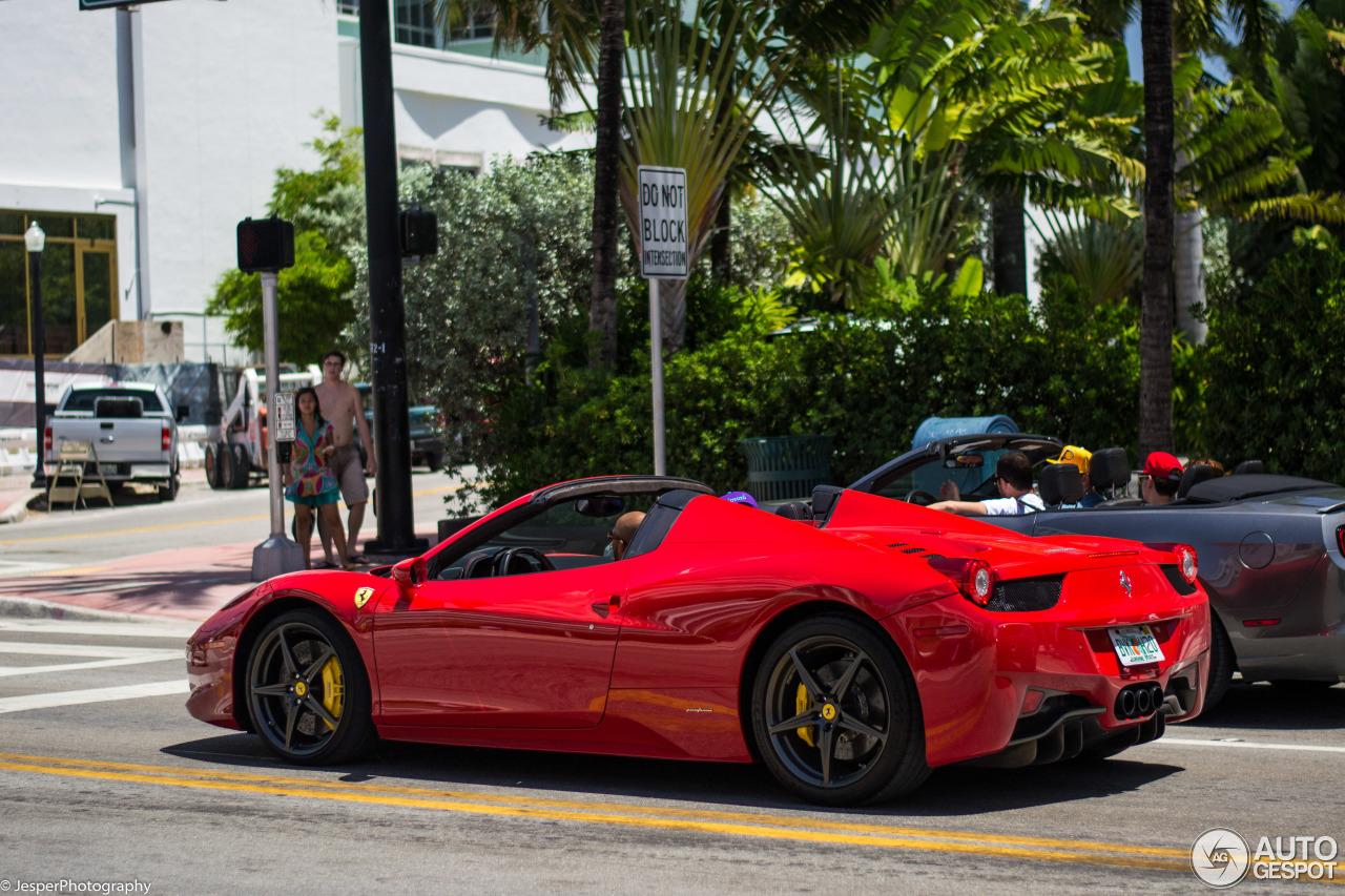 Ferrari 458 Spider 2 September 2014 Autogespot