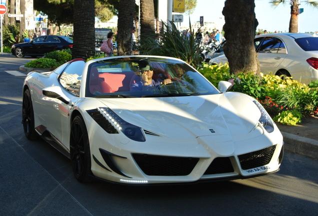 Ferrari 458 Spider Mansory Siracusa Monaco Limited Edition