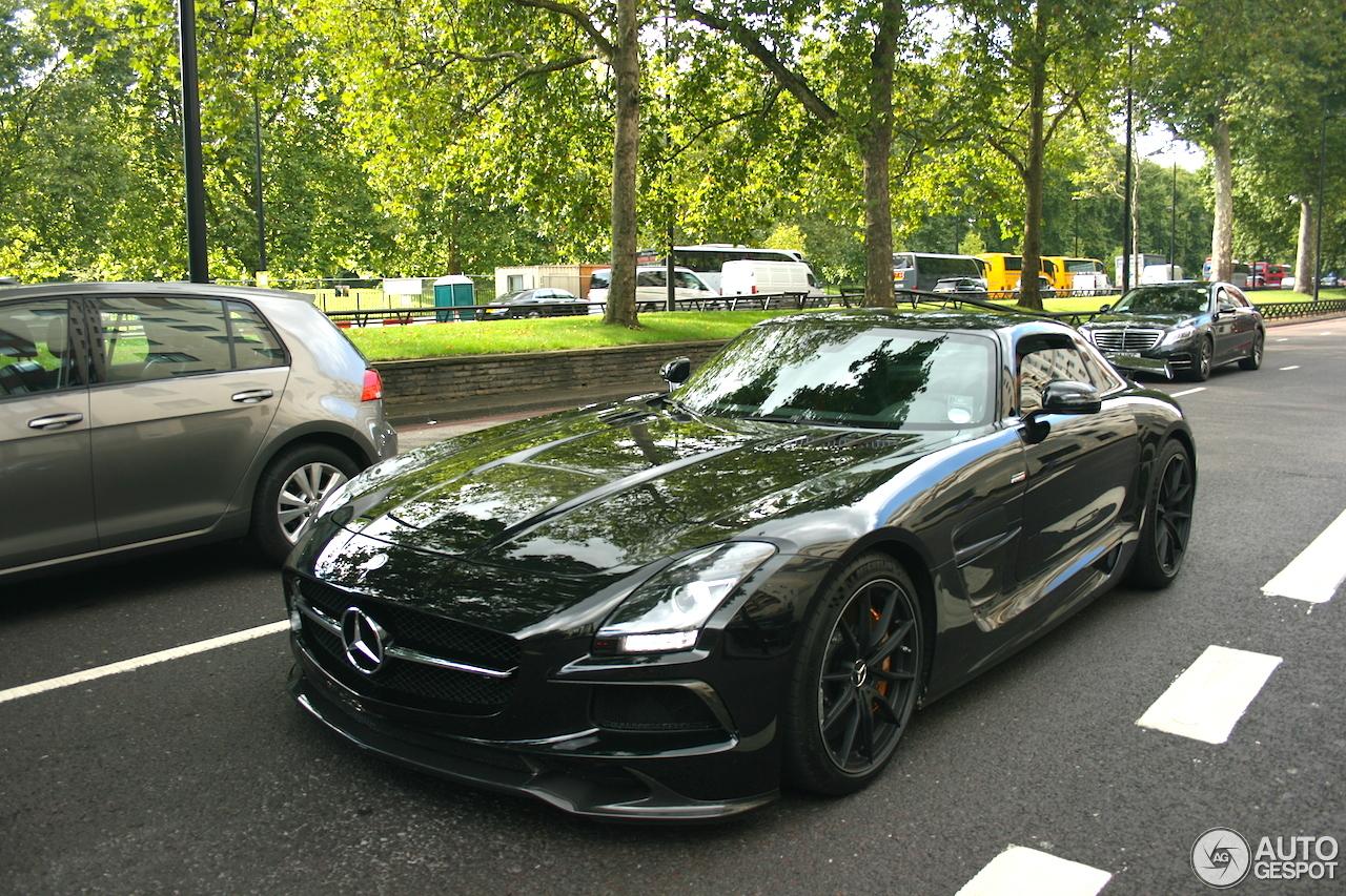 Mercedes benz renntech sls amg black series 6 september for Mercedes benz sls black series for sale