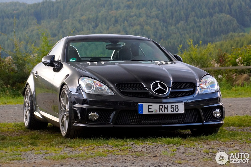 mercedes benz slk 55 amg r171 2007 8 september 2014 autogespot. Black Bedroom Furniture Sets. Home Design Ideas