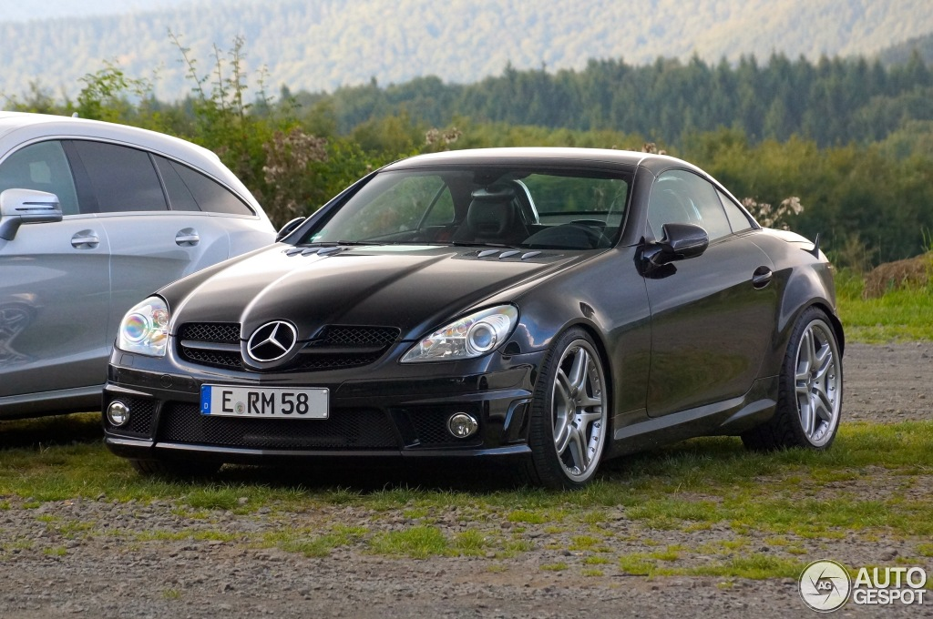 mercedes benz slk 55 amg r171 2007 8 september 2014. Black Bedroom Furniture Sets. Home Design Ideas