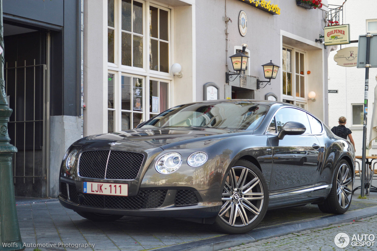 bentley continental gt speed 2012 9 september 2014 autogespot. Cars Review. Best American Auto & Cars Review