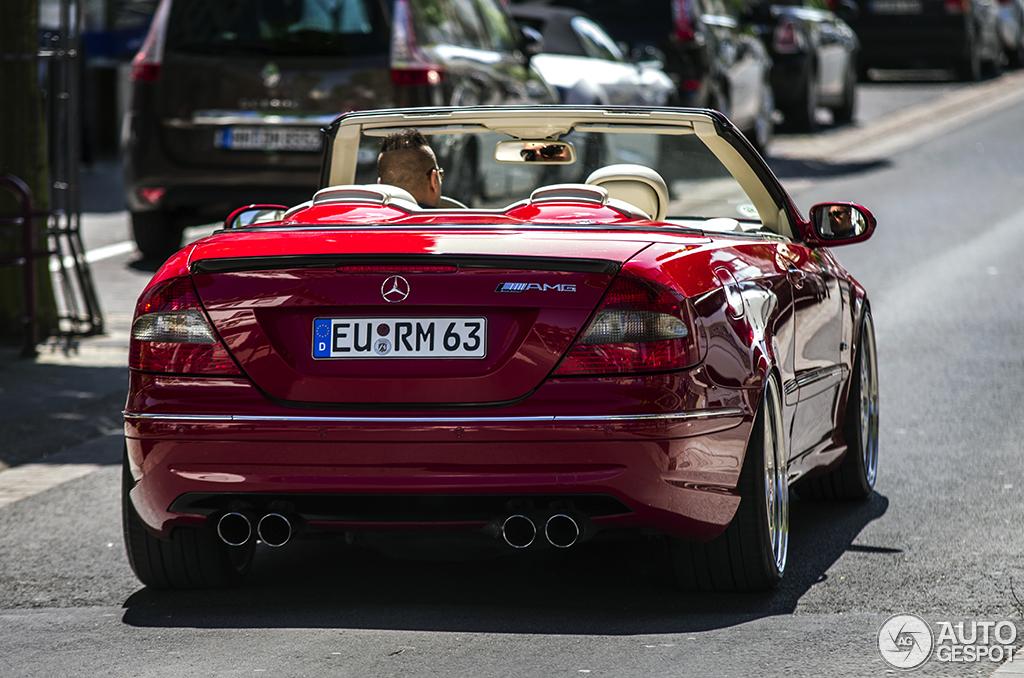 Mercedes Benz Clk 63 Amg Cabriolet 9 September 2014
