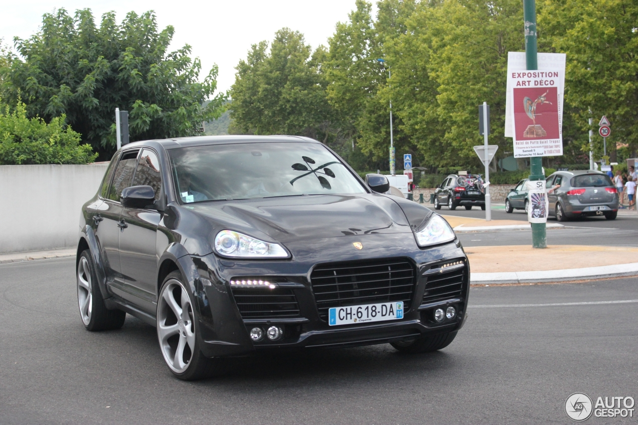 porsche cayenne techart magnum 2007 10 septembre 2014 autogespot. Black Bedroom Furniture Sets. Home Design Ideas