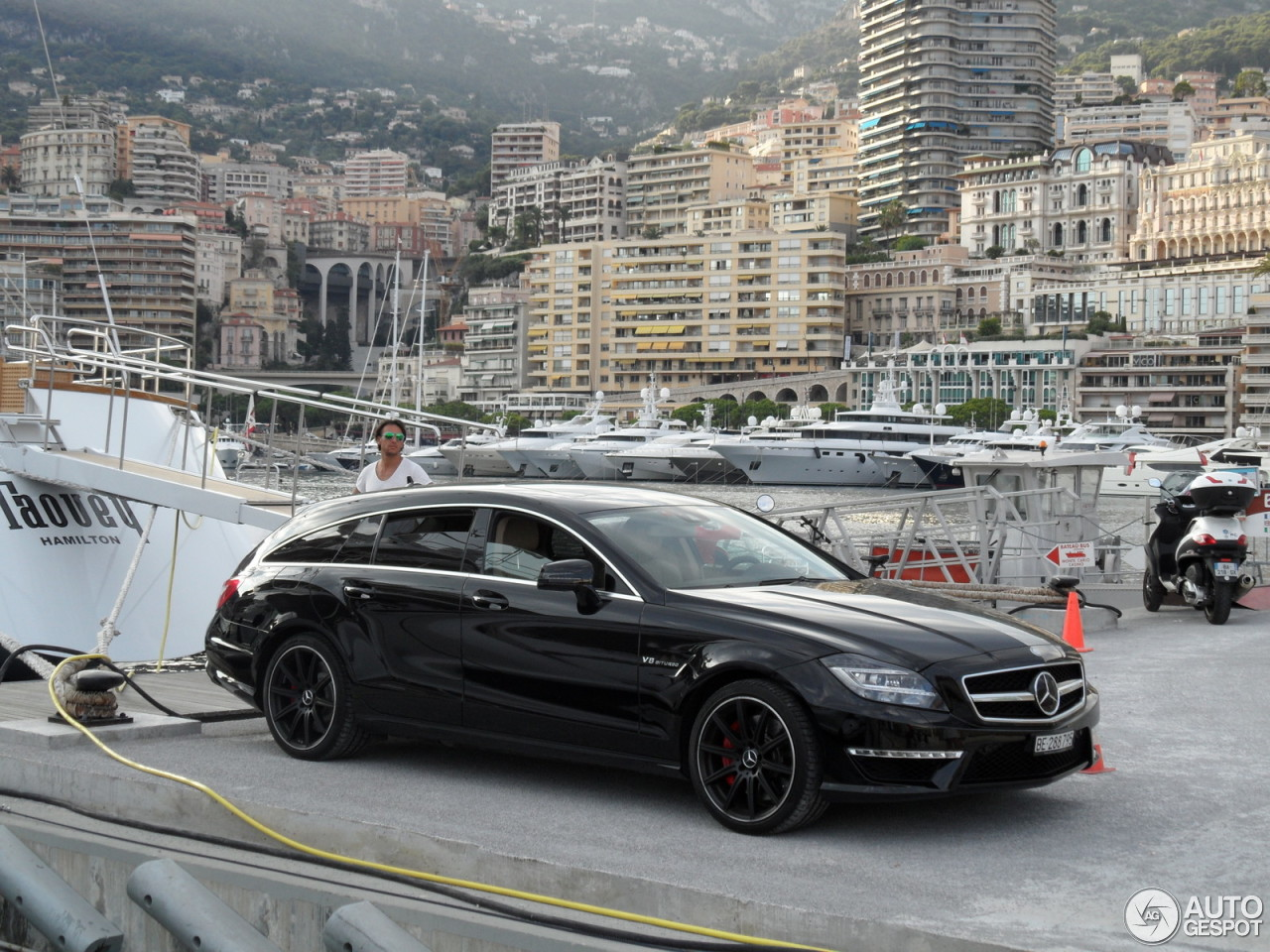 Mercedes Benz Cls 63 Amg X218 Shooting Brake 12