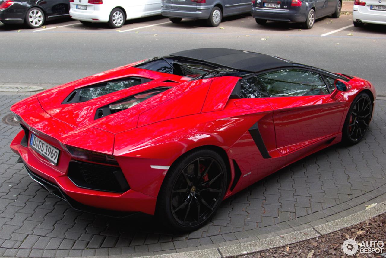 Lamborghini Aventador Lp700 4 Roadster 13 September 2014