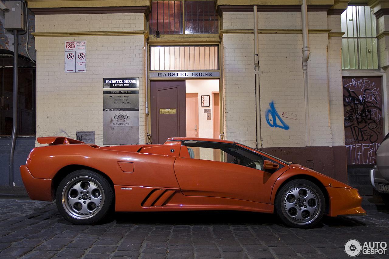 Lamborghini Diablo Sv Roadster 13 September 2014